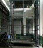 厂家供应单臂导轨式升降机丨小型家用升降平台—伟晨机械