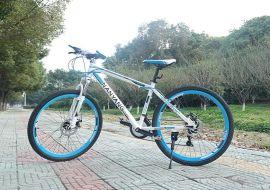 直供南洋牌山地车自行车GB1018银狐铝合金车架禧玛诺变速系统
