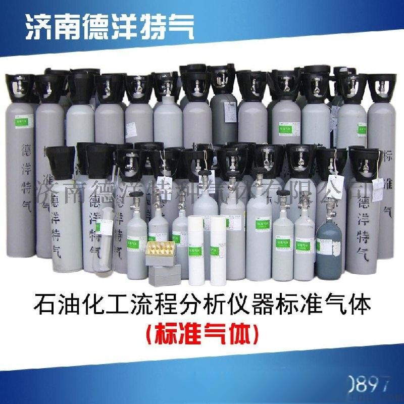 石油化工流程分析儀器標準氣體 濟南德洋 廠家直銷