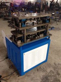 西宁铝门窗冲压模具 陕西铝型材冲孔模具 液压机 手动冲孔机