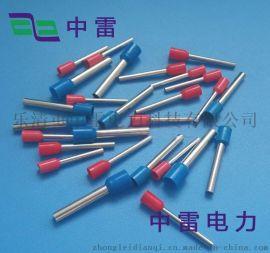 厂家现货出销TE1008型管端子 管型冷压铜鼻子电力金具 欧式端子