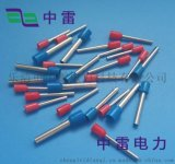 廠家現貨出銷TE1008型管端子 管型冷壓銅鼻子電力金具 歐式端子