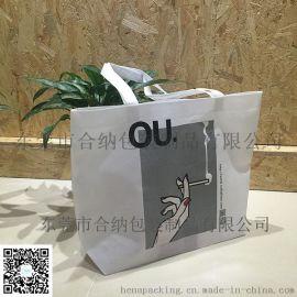 【合纳包装】东莞包装厂家订制热转印环保手提袋、服装购物袋、公益宣传无纺布袋