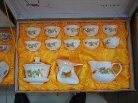 定做冰裂纹陶瓷茶具,新年套装茶具定做