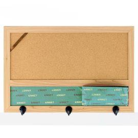 创意zakka进口软木板 多功能家居收纳挂件 水松板留言背景墙批发