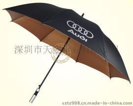 厂家直销超抗风商务高尔夫伞 纤维高尔夫伞 广告伞 礼品伞