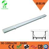 深圳悅亮科技LED辦公室吊燈現代線條燈寫字樓會議室工程辦公照明一字吊線燈