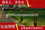 揚州弘旭銷售方形led草坪燈歐式復古庭院燈花