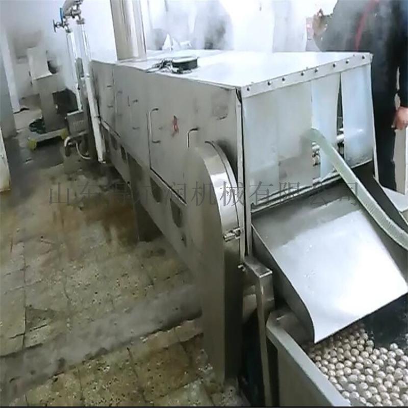 得尔润DR丸子定型机 丸子蒸煮线 丸子蒸煮设备简介