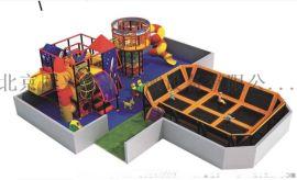 室内超级儿童蹦床 大型蹦床主题公园 蹦蹦床儿童乐园