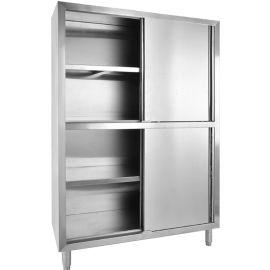 旺乡邻不锈钢四门碗柜厨房收纳柜