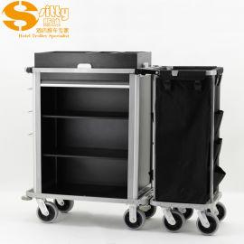 SITTY斯迪98.9808铝制客房清洁服务车