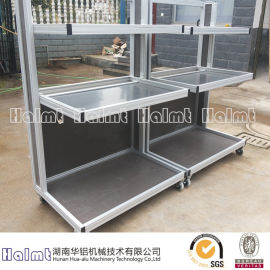 湖南华铝机械铝合金工作台  流水线工作台