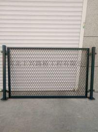 低碳钢板冲轧的钢板网防护栅栏金属网片