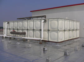 玻璃钢消防水箱 水箱 密闭水箱介绍