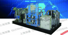 【大型高压】420公斤空气压缩机-42兆帕压力空压机-420BAR压缩机 大型高压压缩机