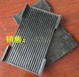 附鋼板的QU120復合橡膠墊板、QU120鋼軌橡膠墊板
