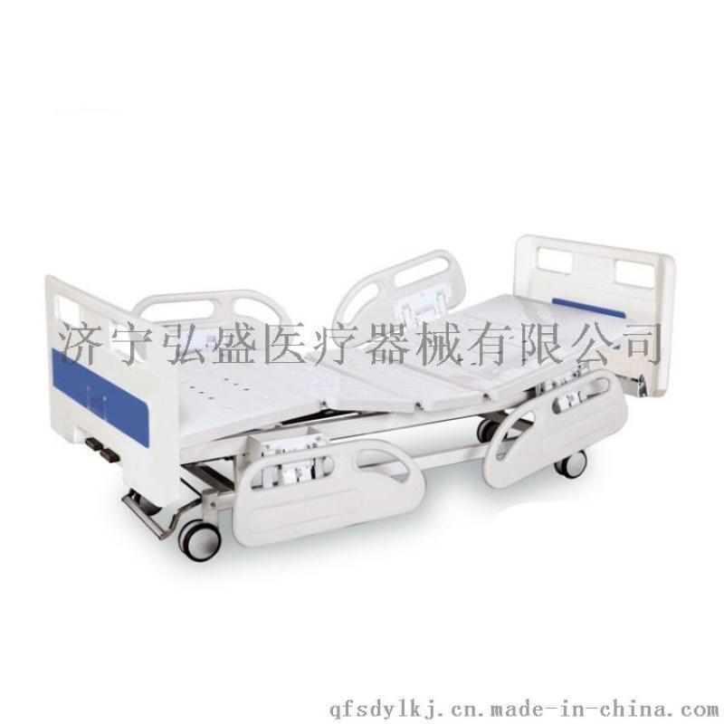 手动双摇护理床A5弘盛ICU手动双摇护理床