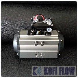 AT系列双作用阀门气动执行器 AT气动执行器机构 AT气动头 AT气缸