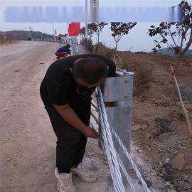 绳索护栏厂家@景区绳索护栏@景区绳索防撞护栏