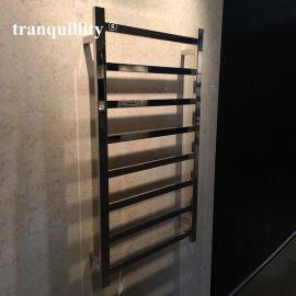 8杆扁管不鏽鋼電熱毛巾杆 扁管電熱毛巾架