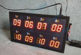 工厂生产车间LED计数器8位显示屏计数显示屏计数看板