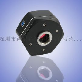 超清1000万显微镜相机 可拍照测量保存数据 高清工业相机/CCD