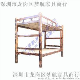 全实木高低床双层床上下铺儿童床子母床子母床上床定制
