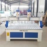 双头棺材雕刻机厂家 1325双头寿材浮雕机