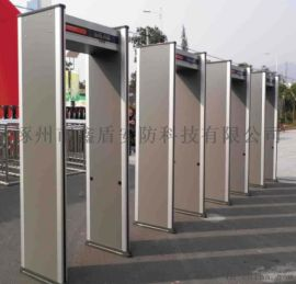 6分區帶燈柱安檢門 金屬探測安檢門中國參數類別