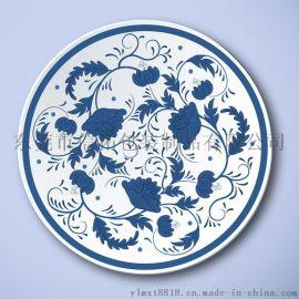 私人定制陶瓷花纸个性化陶瓷烫金水贴纸厂家水转印加工