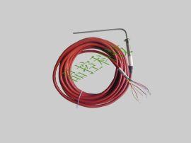 灭菌柜专用探头、国产温度探头、医疗PT100热电阻,双芯弯探头