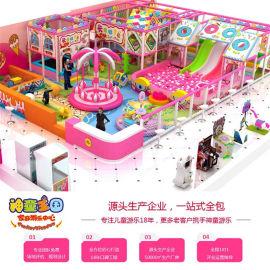 糖果主题淘气堡 小朋友们超喜欢的新型主题乐园