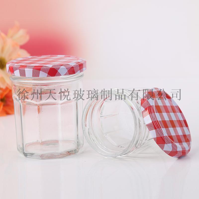 果酱瓶,十二棱玻璃瓶,巧婆婆玻璃瓶
