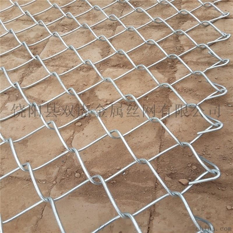 护坡机编铁丝网 边坡防护镀锌勾花网