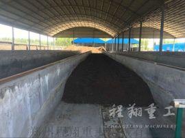 槽式翻抛机 有机肥翻堆机 鸡粪翻抛机 肥料堆肥设备