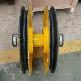 厂家直销  轧制铸钢滑轮组非标定制