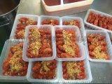 供销小龙虾塑料盒,耐冷冻低温塑料盒