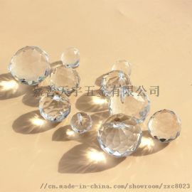 水晶灯饰球珠帘水晶球灯饰