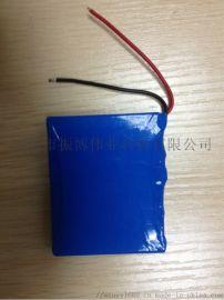 18650/2200容量加锂电池组 3串11.1V