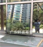 廣州幕牆開窗 固定玻璃改造開窗
