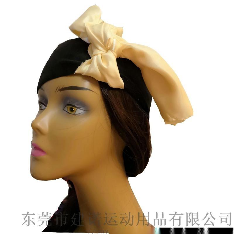 调节式运动头巾  跑步头带  发带
