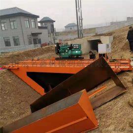 混凝土渠道衬砌机 水利设备渠道成型机