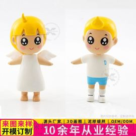 工廠訂制天使娃娃擺件卡通公仔擺件年會促銷小禮品擺件