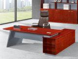 2486款2.2米油漆办公桌 胡桃木皮绿色环保家具