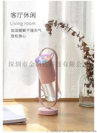 加湿器360旋转家用静音卧室净化空气香薰喷雾