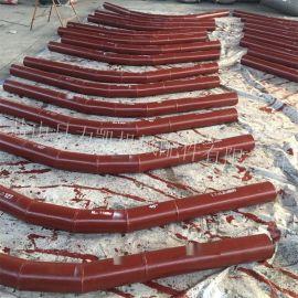 专业生产碳钢内衬三氧化二铝陶瓷弯头