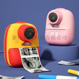 萌卡丘双镜头像素拍立得可打印儿童相机