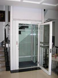 【濟南偉晨】SJD0.3—9雙門雙開家用升降機的設計生產和安裝