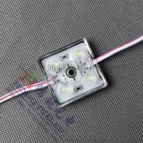 2835四灯透镜模组 晶元芯片 LED四灯铁壳防水模组 发光轮廓专用灯